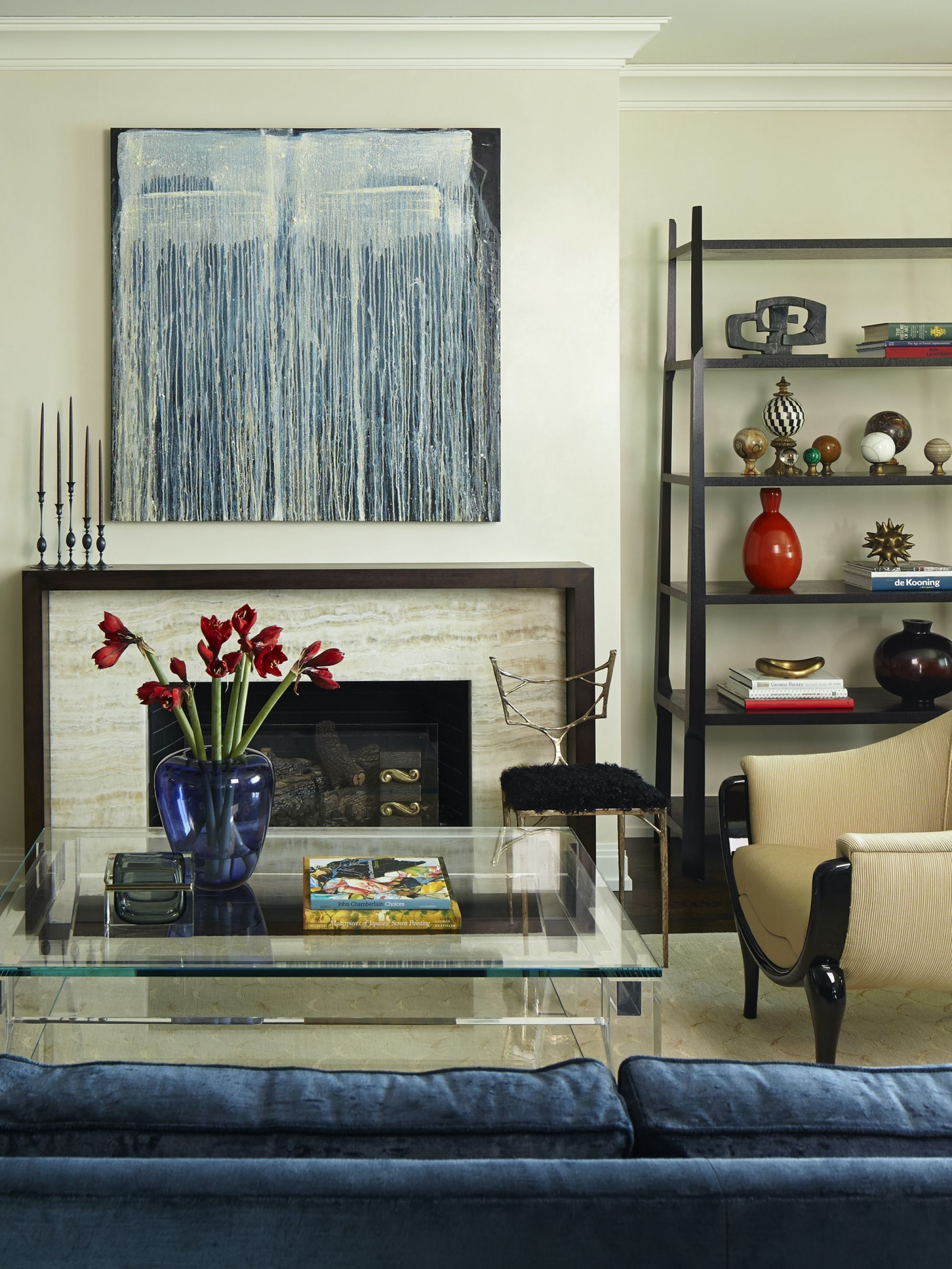 Gold Coast Living Rm Fireplace