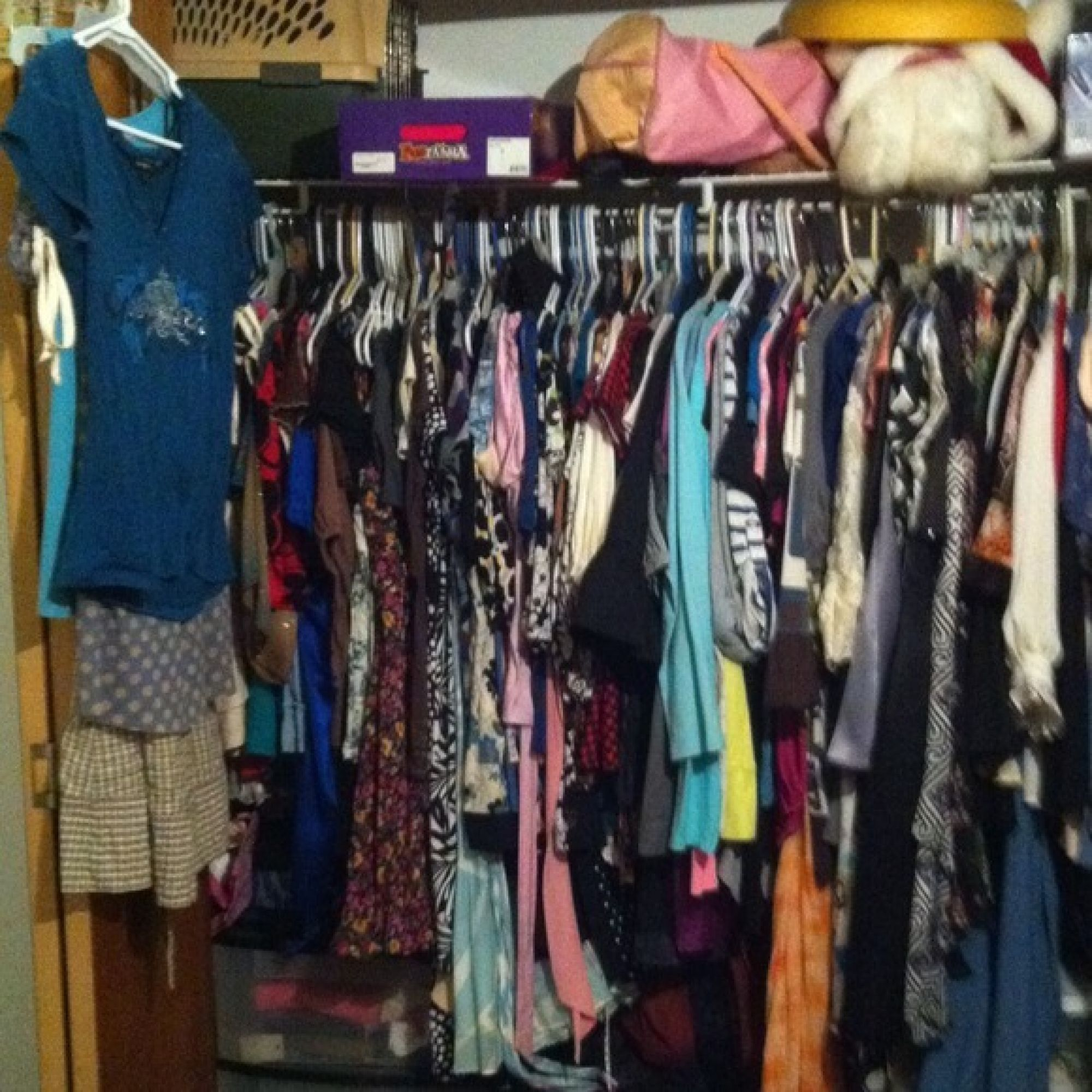 How packed is your closet? (Image: Poshmark)